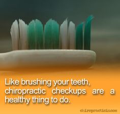 The real reason you should see a chiropractor. #chiropractic http://DrJockers.com