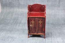 Vintage Antique DollHouse Miniature Doll House Gottschalk Cabinet Furniture