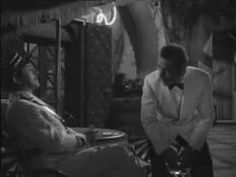 """Casablanca. """"How extravagant you are, throwing away women like that..."""" Louis and Rick talk about why Rick came to Casablanca. One of my favorite films. Once it starts, I can't stop watching it."""