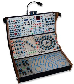 modular synthesizer (digital/analog hybrid).