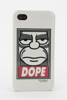Shepard Fairey X The Simpsons Dope iPhone 4:4S Case