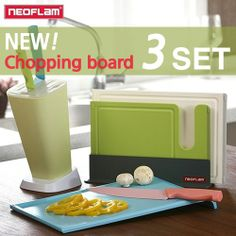 83a9974d1922 Qoo10 -  NEOFLAM  Antibacterial Cutting Board Set  Kitchen cook steel  chopping...   Household Goods group buy  29.90 (25 5 14) Left 11 days  Ship  3.90