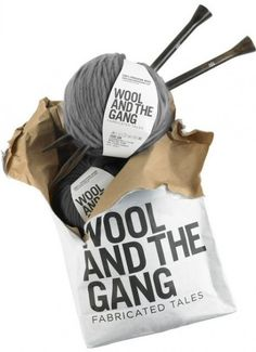 """Wool and The Gang"" knit kit party TONIGHT Nov 10, at 6pm. Space (kits) still available. Enjoy refreshments while getting your knit on, with others, creating your Snood Dog (beginner level.)"