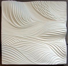 Stream Bed ~ Architexture Tile made by hand by Natalie at Natalie Blake Studios, Brattleboro, VT