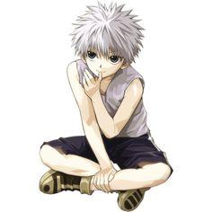 Render Killua Kirua Zoldik Zoaldyeck Hunter - Hunter x Hunter - Animes... ❤ liked on Polyvore