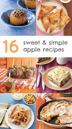 16 sweet and simple apple dessert recipes to try this fall