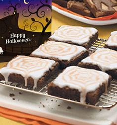 Get crafty with Halloween themed fudgy chocolate brownies!