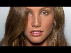 "The model's hair looks great.   Editorial ""No Makeup"" Makeup! - YouTube"