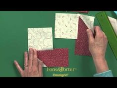 LeMoyne Star Quilt Block Without Set In Seams - YouTube