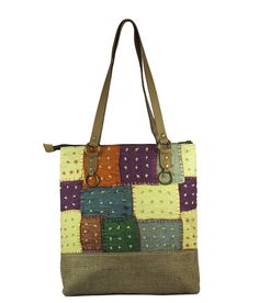 Vintage Style Shopping Bag #styleincraft #handbag #shoulderbag #handmadebag
