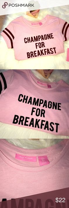 "NWT Isaac Mizrahi Champagne For Breakfast Gown NWT Isaac Mizrahi Pink Champagne For Breakfast Sleep Gown - size small - bust 16"" length 32"" Isaac Mizrahi Intimates & Sleepwear Pajamas"