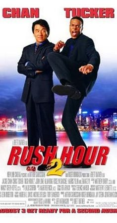 Directed by Brett Ratner.  With Jackie Chan, Chris Tucker, John Lone, Ziyi Zhang. Carter and Lee head to Hong Kong for vacation, but become embroiled in a counterfeit money scam.
