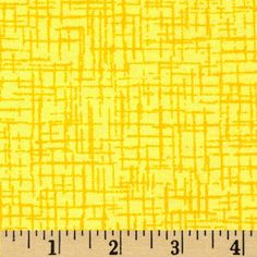 110 In. Wide Quilt Back Betula Flannel Yellow from @fabricdotcom  This 110'' wide flannel quilt backing is perfect for quilt backing, duvet covers, curtains and pillow covers. It features an abstract cross-hatch pattern throughout.