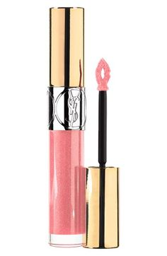 Yves Saint Laurent 'Gloss Volupte' Lip Gloss in Rose Orfevre.
