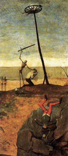 Pieter Bruegel the Elder. The Triumph of Death (detail)