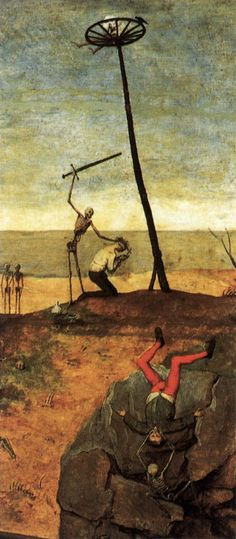 Pieter Bruegel the Elder. The Triumph of Death (detail)