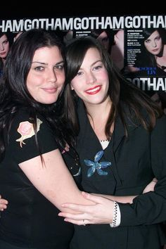 Liv Tyler and Mia Tyler
