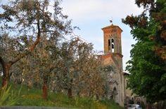 Au printemps... Sous la pluie - Une église pour quelques ames au détour d'un chemin - Vos plus belles photos de Toscane