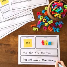 Sight Word Say It Make It Write It Use It Mats Oxford List Words - Based on our super popular Say It Make It Write It Mats, these sight word mats include the first 10 - Sight Word Sentences, Teaching Sight Words, Cvc Words, High Frequency Words Kindergarten, Spelling Activities, Sight Word Activities, Listening Activities, Vocabulary Games, School