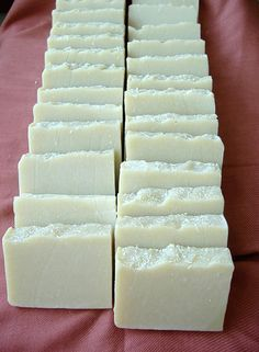 Wrinkle Fighting Homemade Soap