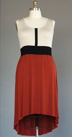 Linnea Dress-Brick