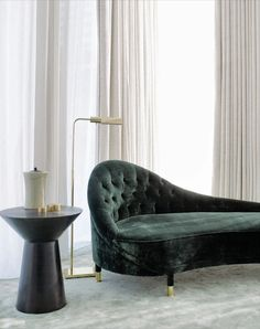 There is something about these chaise lounges that I have always liked but they can limit your rearranging options. For example, I would want this one to have the back on the other side.
