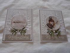 Carta Bella papers Tim Holtz Tree die Tim Holtz, Homemade Cards, Christmas Cards, Paper, Frame, Home Decor, I Want You, Xmas Cards, Room Decor