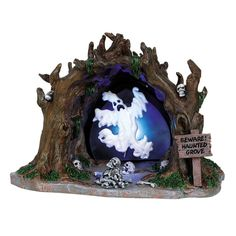 Lemax - Haunted Grove, Battery-Operated (4.5V)