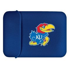 Kansas Jayhawks Laptop Case by Team Promark. $25.00. Looking for a great gift for college student, university alumni, or college sports fan? Check out our officially licensed collegiate laptop case, it is a cool gift idea and functional computer accessory. Smart and sharp, the laptop sleeve is made of durable padded mesh material with embroidered team logo. It fits both notebooks and laptops 13-inch to 15-inch wide and is fun way to show your NCAA sports team spirit.