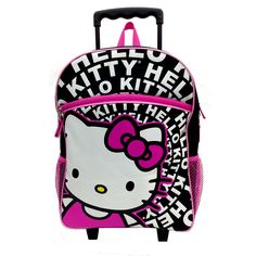 """Hello Kitty Rolling Backpack - Fashion Accessory Bazaar - Toys """"R"""" Us"""