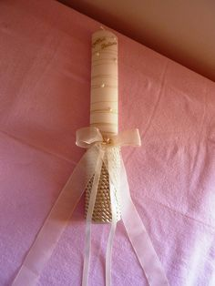 By Renee's Candles – Wedding Candles Ideas Baptism Candle, Irish Wedding, Do It Yourself Projects, Diy Box, Diy Candles, Christening, Craft Projects, Baby Shower, Crafts