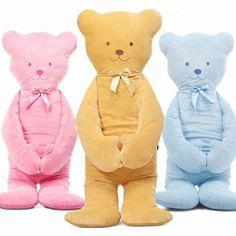 51 inch Car Cushion Lovely Teddy Bear Cushion Stuffed Hold Pillow