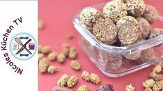 Energiekugeln - Rezept von Nicoles Küchen Tv Cooking Chef Gourmet, Kenwood Cooking, Thermomix Desserts, Foodblogger, Vegan, Dog Food Recipes, Cereal, Breakfast, Fitness