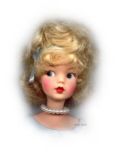 Tammy Doll from the 1960's...love it that this one is wearing pearls!