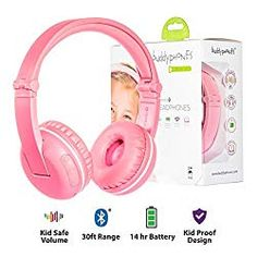 Wireless Bluetooth Headphones for Kids - BuddyPhones PLAY