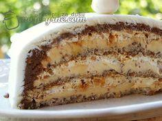 Svi recepti na jednom mjestu! Cupcake Recipes, Baking Recipes, Cookie Recipes, Dessert Recipes, Bosnian Recipes, Croatian Recipes, Kolaci I Torte, Torte Cake, Cooking Cake