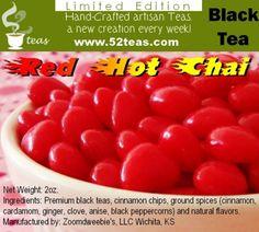 Review: Red hot Chai (tea) 52Teas by Sororiteasisters