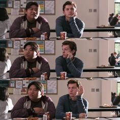 Peter is me when I don't understand why people. Marvel Dc, Marvel Comics, Tom Holland Fanfiction, Bug Boy, Lost City Of Z, Harrison Osterfield, Tom Holland Peter Parker, Def Not, Men's Toms