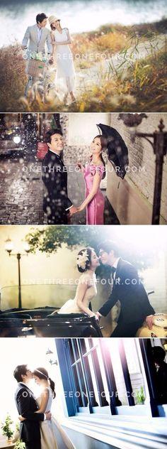 Korean Studio Pre-Wedding Photography: M Company - Outdoor, Rain Korean Photoshoot, Prewedding Outdoor, Wedding Pics, Wedding Ideas, Korean Wedding, Wedding Photography Packages, Real Couples, Wedding Photography Inspiration, Photo Sessions