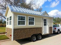 Image result for tiny house with metal siding