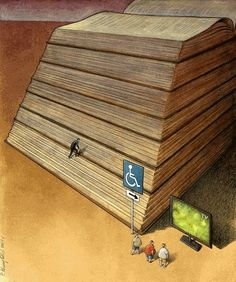 20+ Superb Illustrations About the Crazy World