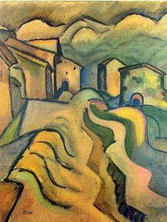 Paseo a la ciudad (Walk to the City), 1917
