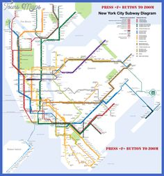 New York Metro Map - http://toursmaps.com/new-york-metro-map-2.html
