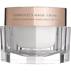 CHARLOTTE TILBURY Charlottes Magic Cream at Brown Thomas. Shop the complete Charlotte Tilbury range in-store or online with fast delivery available. Charlotte Tilbury Makeup, Best Charlotte Tilbury Products, Charlotte Tilbury Magic Cream, Sephora, Moisturizer For Dry Skin, Oily Skin, Moisturiser, Best Anti Aging, Beauty Products