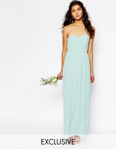 TFNC+WEDDING+Bandeau+Chiffon+Maxi+Dress $77.00 - other colors available