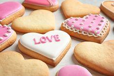 Galletas de Mantequilla Danesas Receta Pinterest Diy Crafts, Delicious Desserts, Yummy Food, Valentine Gifts, Bakery, Cupcakes, Cookies, Breakfast, Simple