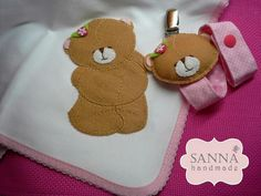 ✽ Sanna Handmade ✽: Conjunto Forever Friends - Rosa
