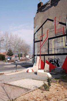 Collectif Parenthèse, Place du Géant, Saint-Étienne