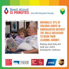 Nationally, 37% of children arrive in kindergarten without the skills necessary to begin their learning journey. Sure, reading aloud with your child will definitely help, but this is also a huge reason why we need to invest in high-quality ECE. Kindergarten readiness isn't just pre-literacy skills, it's also about cognition, behavioral, and social-emotional skills along with scientific, creative, and mathematical thinking.