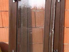 Dřevěné okno 58 x 148 cm pravé
